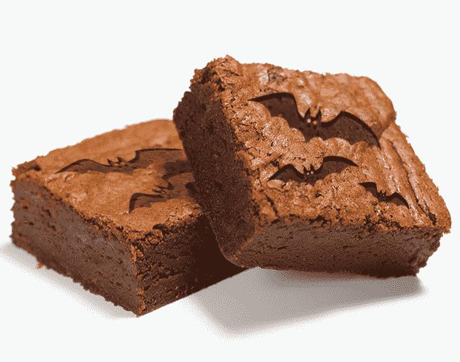 bat brownie