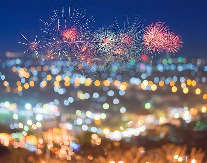 Fireworks safety for family